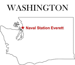Naval Station Everett Map U.S. Navy Washington