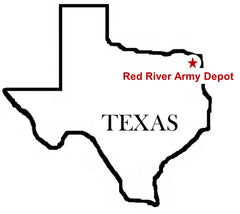 Red River Army Depot Map
