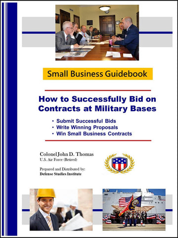 Cover - (How to Successfully Bid on Contracts at Military Bases)