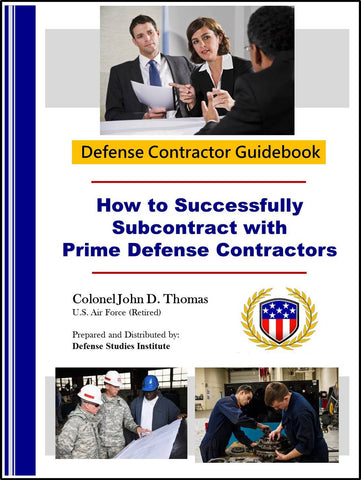 Cover (Subcontracting to DoD Prime Contractors)