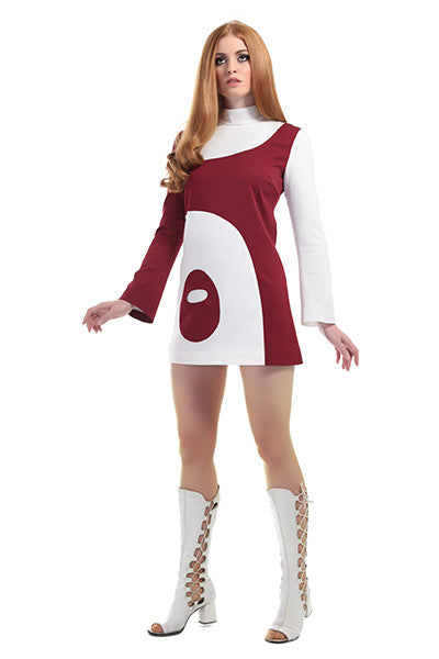 DandyLife 'Aero' 60s Style Mini Dress Space Age Inspired