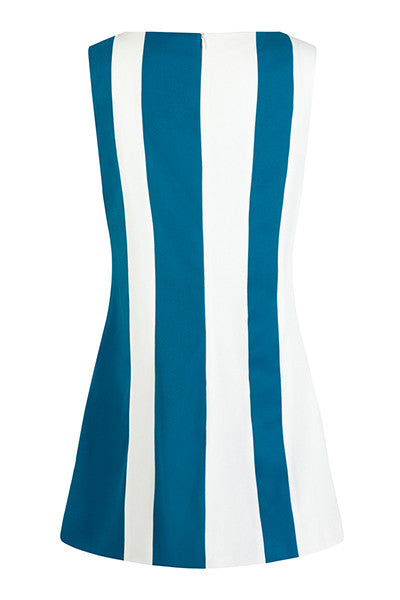 DandyLife 'Orbit' 60s Style Mini Dress in an Op Art Design