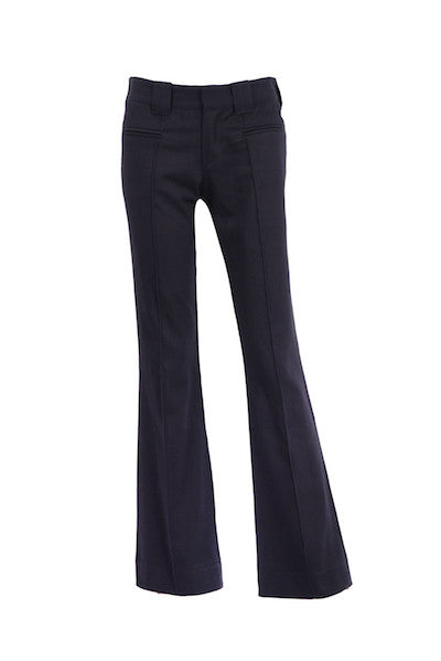 DandyLife Women's 60s Bootcut Trousers Flares in Black