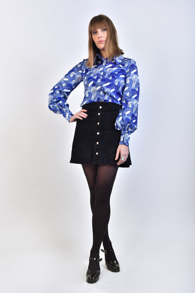 DandyLife 60s Star Print Blouse