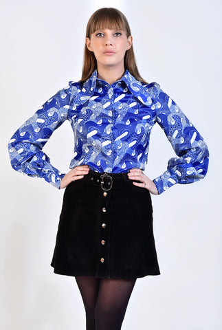 DandyLife 60s Psych Style Blouse