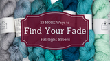 Great Ideas: 23 MORE Ways to Find Your Fade!