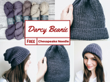 Free Pattern: Darcy Beanie -- The Chesapeake Needle