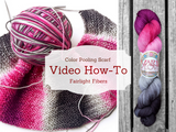 Pretty Projects: Video How-To for Color Pooling Scarf