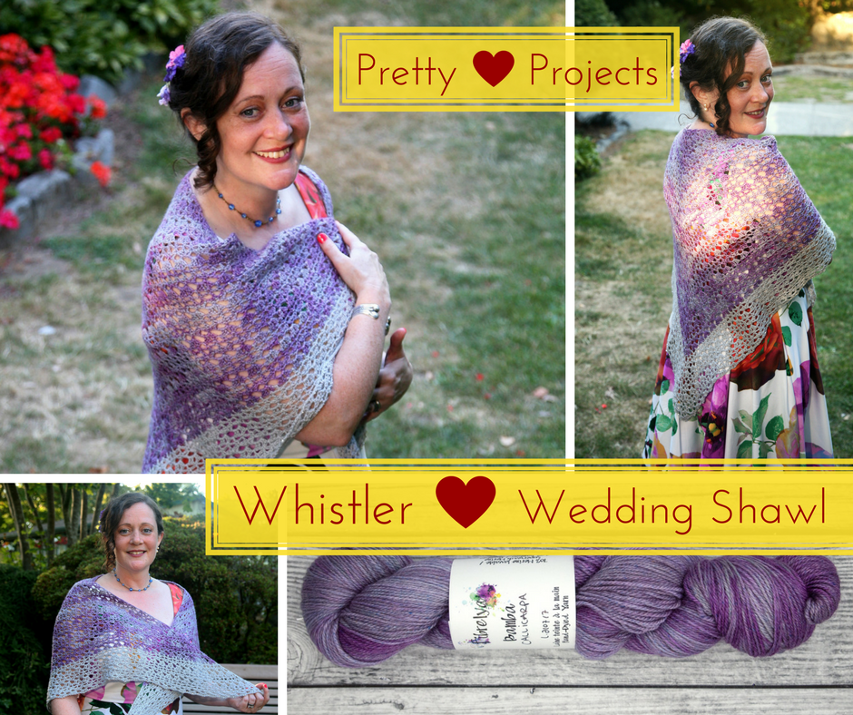 Pretty Projects: Whistler Wedding Shawl