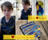 Pretty Projects: Kath's African Daisy Bandana