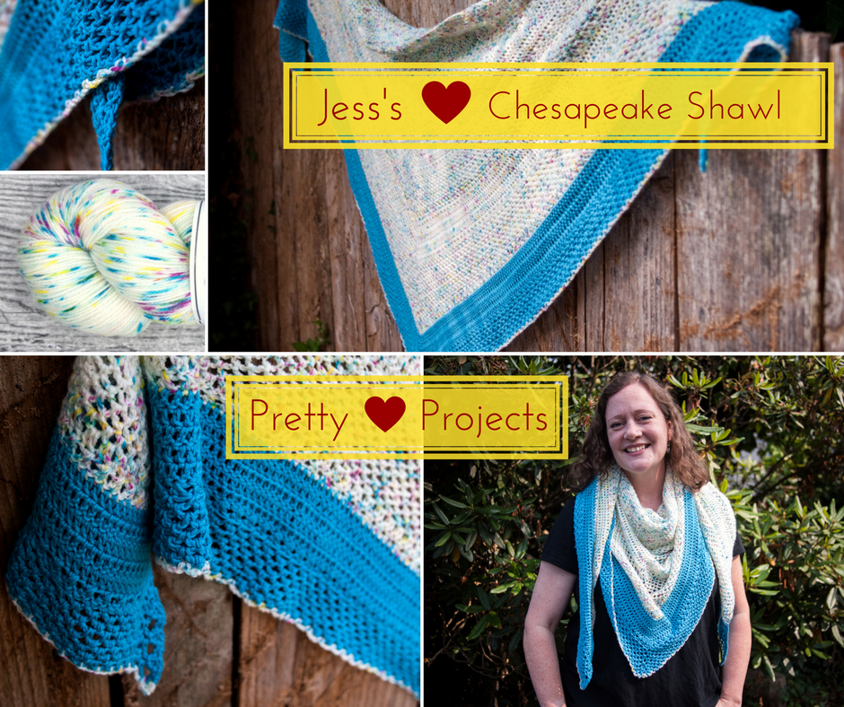 Pretty Projects: Jess's Chesapeake Shawl