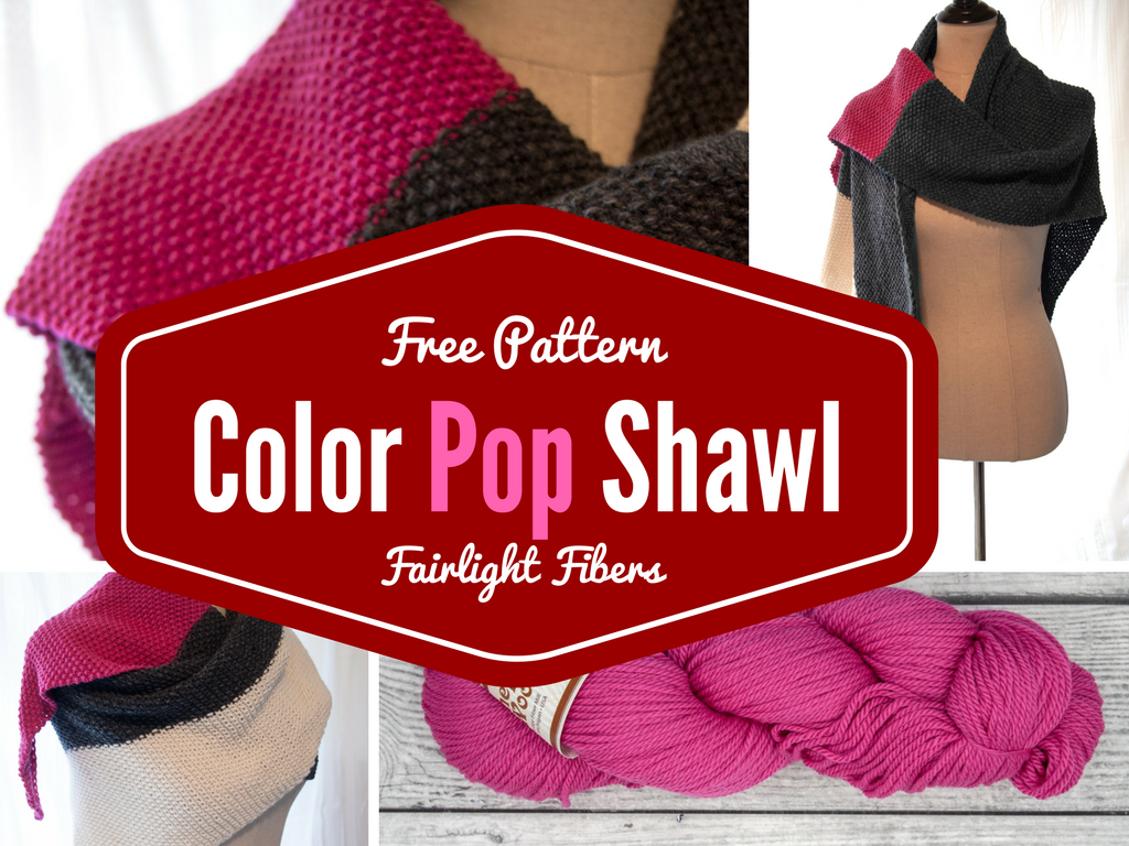 Free Patterns: Color Pop Shawl