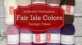 Great Ideas: Fair Isle Color Combinations