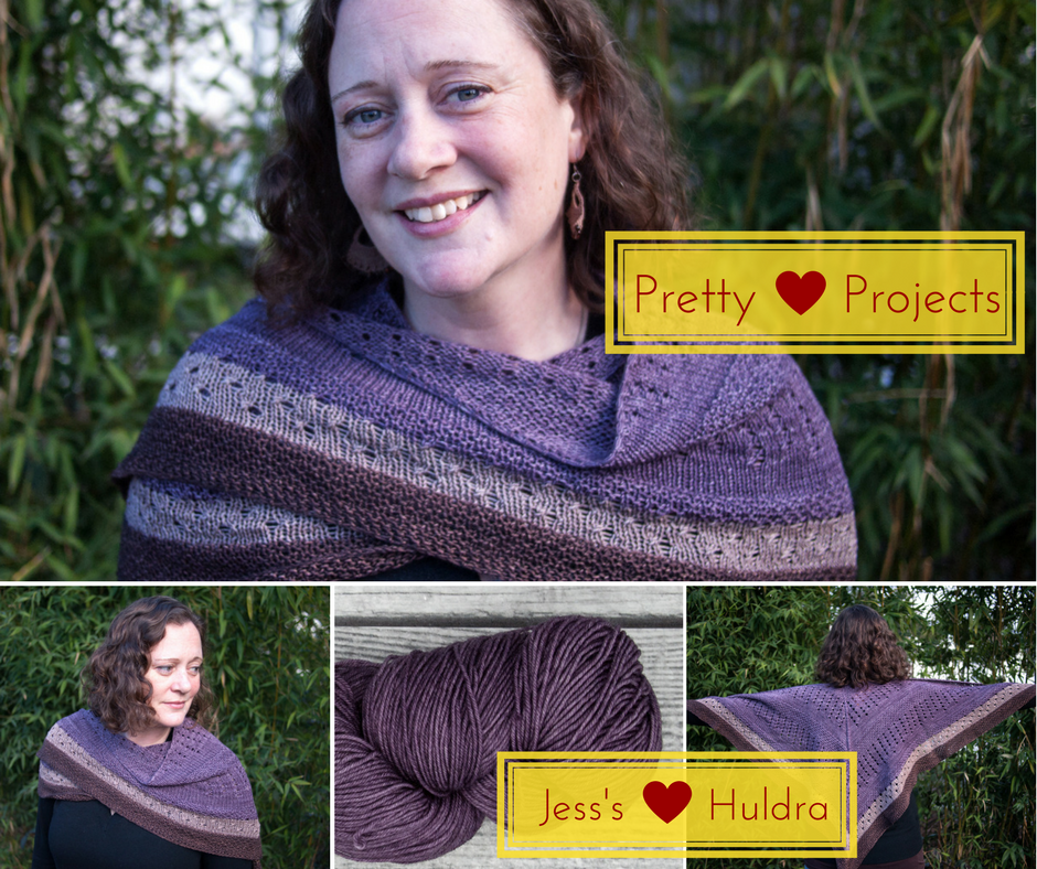 Pretty Projects: Jess's Huldra Shawl