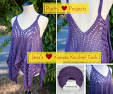 Pretty Projects: Jess's Kanata Kerchief Tank