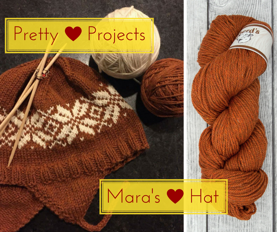 Pretty Projects: Mara's Norwegian Star Hat