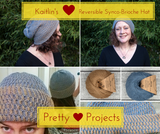 Pretty Projects: Reversible Synco-Brioche Hat