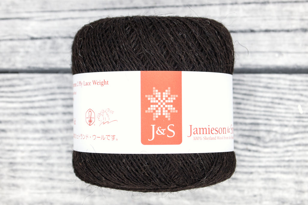 Jamieson & Smith 1-Ply and 2-Ply Shetland Supreme Lace Weight - Fairlight Fibers
