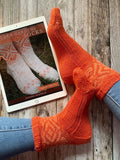 Golden Gardens Socks Pattern: Fairlight Fibers - Fairlight Fibers