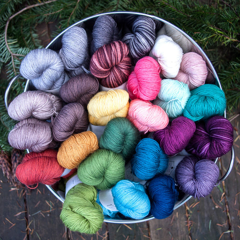 Cedar House Yarns Sapling Sock - Fairlight Fibers