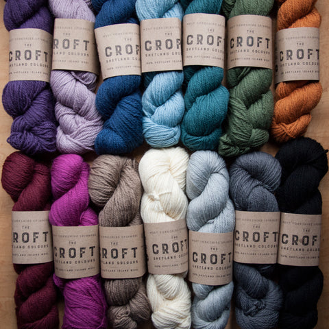 West Yorkshire Spinners The Croft Shetland Colours - Fairlight Fibers