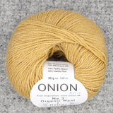 Onion No. 3 Organic Wool + Nettles Yarn - Fairlight Fibers