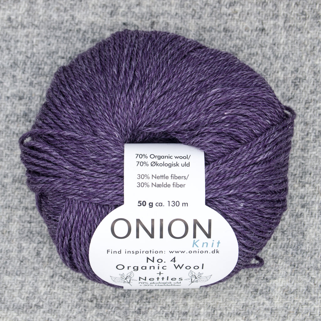Onion No. 4 Organic Wool + Nettles Yarn