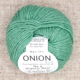 Onion No. 4 Organic Wool + Nettles Yarn - Fairlight Fibers