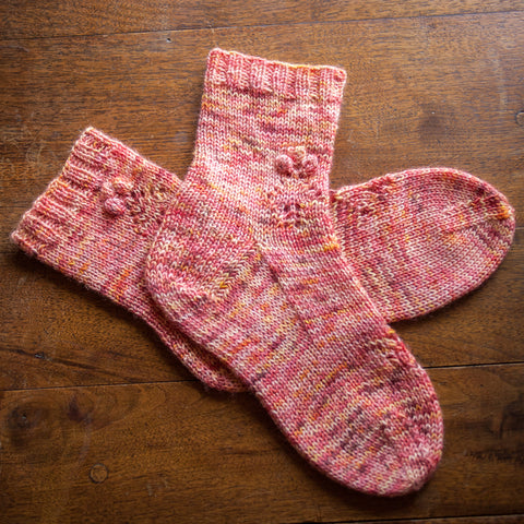 Orchard Lane Socks Pattern: Fairlight Fibers - Fairlight Fibers