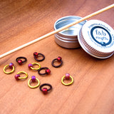 Fripperies & Bibelots ringOs Stitch Markers - Fairlight Fibers