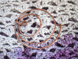 Windrose Wanderings Copper Shawl Pin - Fairlight Fibers