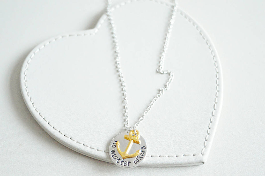 Anchor Necklace - YouLoveYouShop
