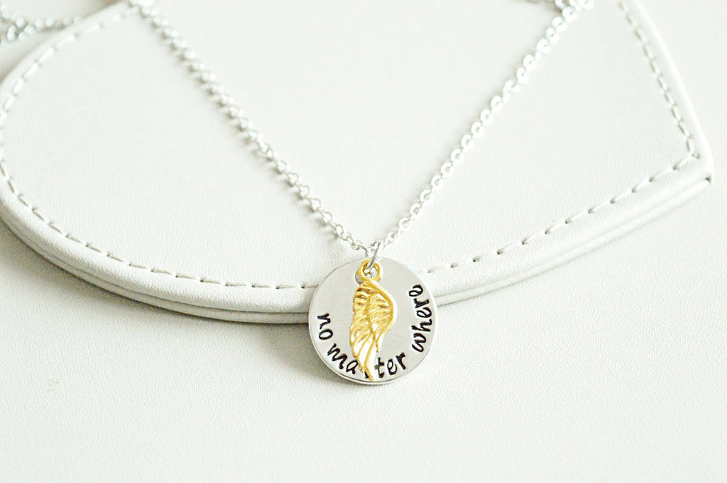 Angel Wing Necklace - YouLoveYouShop