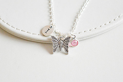 Butterfly Charm Necklace - YouLoveYouShop