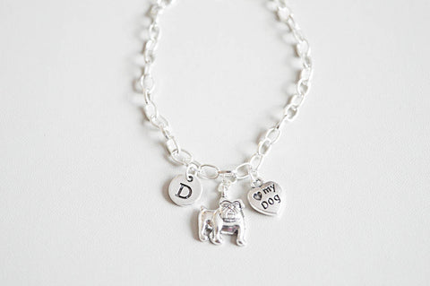 Pug Bracelet - YouLoveYouShop