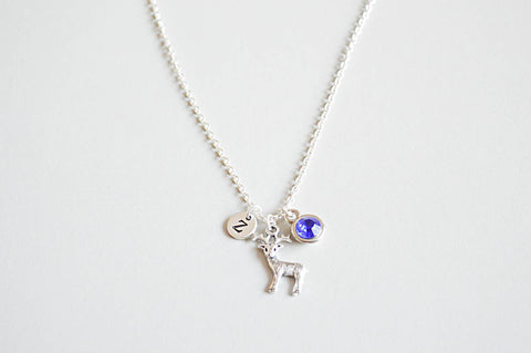 Deer Necklace - YouLoveYouShop