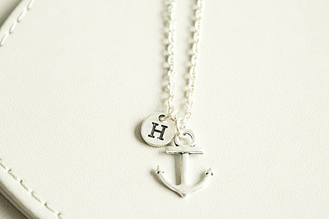 Anchor Charm Necklace - YouLoveYouShop