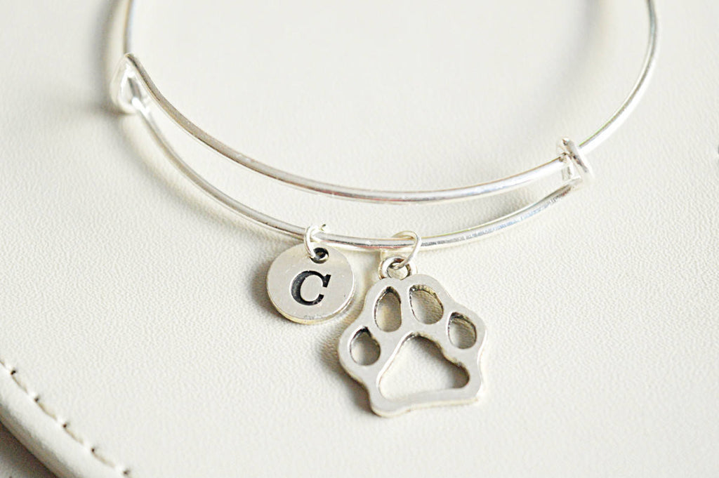 Paw Print Bangle - YouLoveYouShop