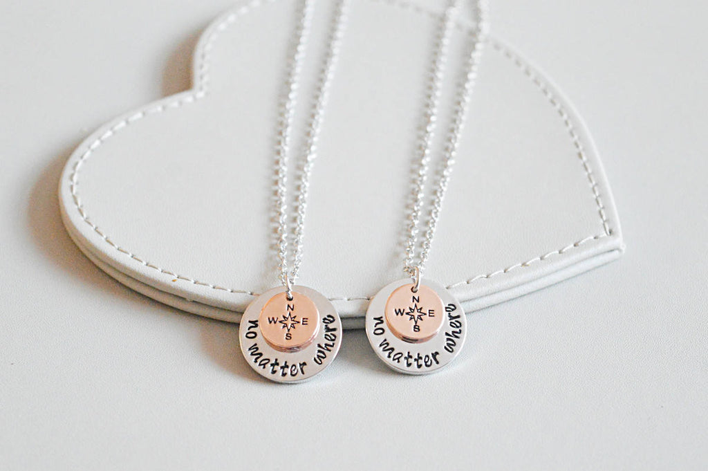 No Matter Where Necklace - YouLoveYouShop