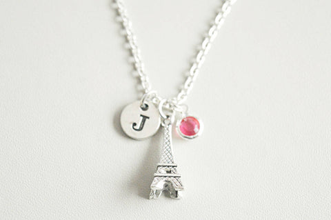 Eiffel Tower Necklace, Paris Necklace, Eiffel Tower Jewelry, Paris Jewelry, Eiffel Tower, Paris, France Gift, French, France Jewelry gift
