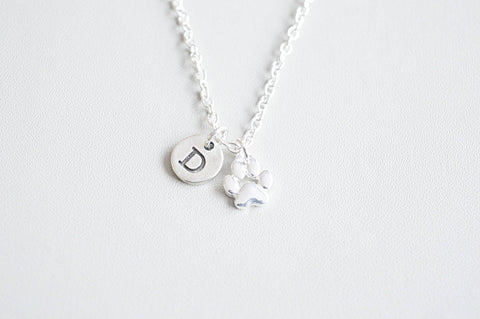 Dog Paw Necklace - YouLoveYouShop