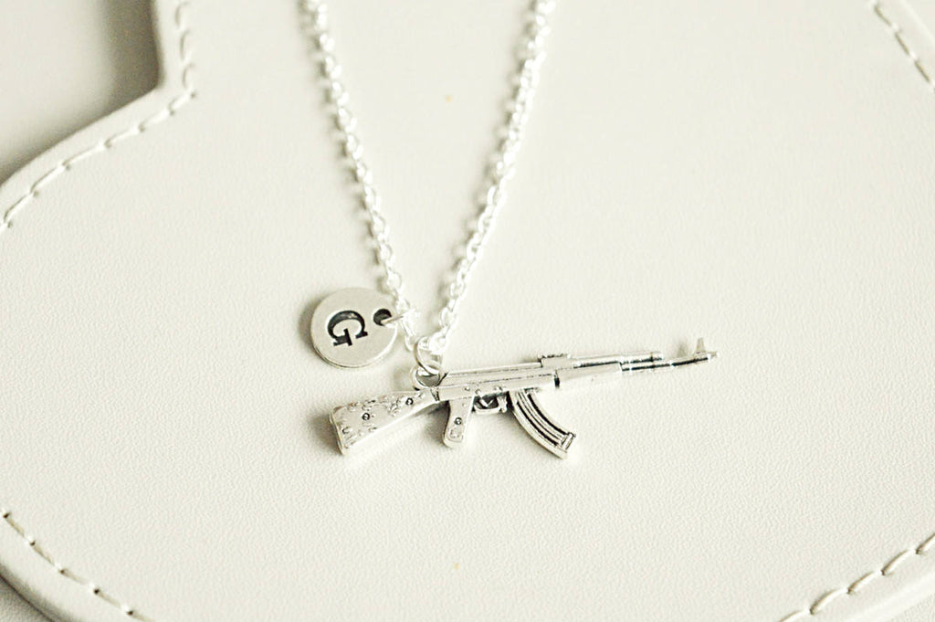 Gun Necklace - YouLoveYouShop