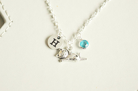 Cat Necklace, Cat Charm Necklace, Cat Lover Necklace, Personalized Cat Charm Necklace, Cat Gift,Cat Loss Gift,Pet Loss Gift,Petloss Necklace
