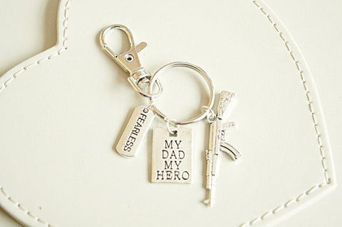 Army Dad Gift My MY Hero Father Birthday Military