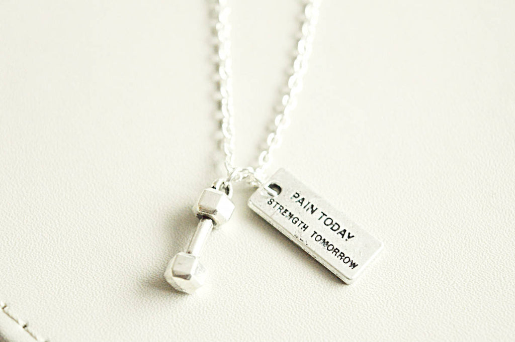 Pain Today Strength Tomorrow Necklace - YouLoveYouShop