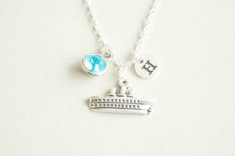Ship Necklace - YouLoveYouShop