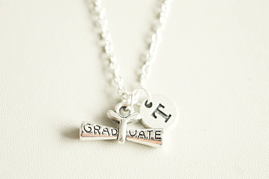 Graduation Scroll Necklace - YouLoveYouShop