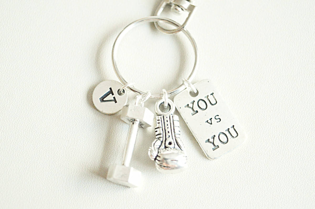 Fitness Keyring - YouLoveYouShop