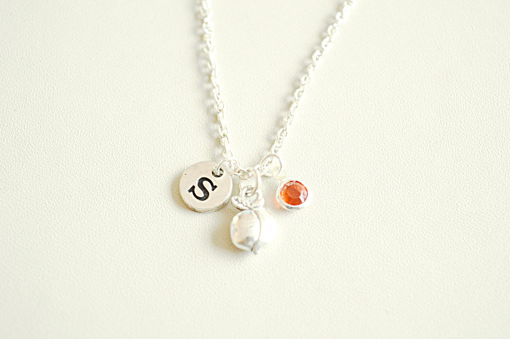 Peach Necklace - YouLoveYouShop