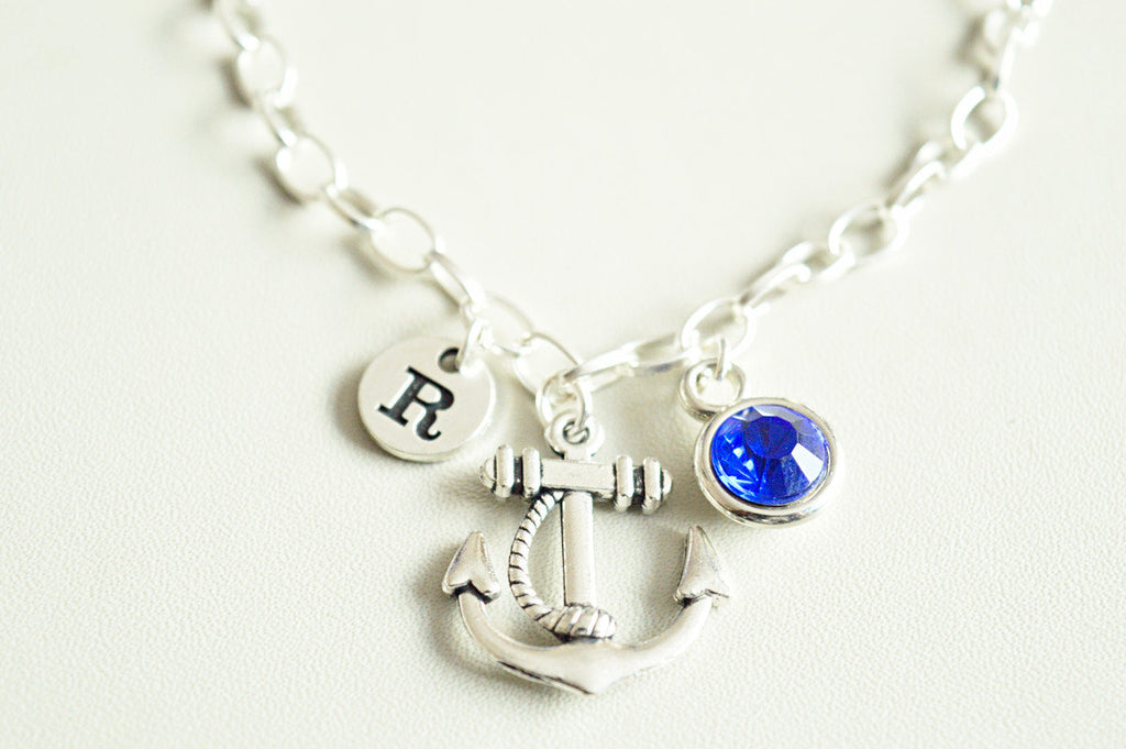 Anchor Charm Bracelet - YouLoveYouShop